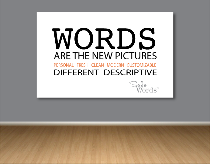 Words Art Canvas Wall Decor By SOLO WORDS Sports Life Children