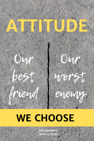 Attitude | Solowords into Action
