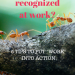 Do you feel recognized at work? SoloWords into Action