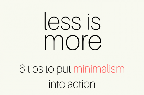 Minimalism into Action | SoloWords into Action